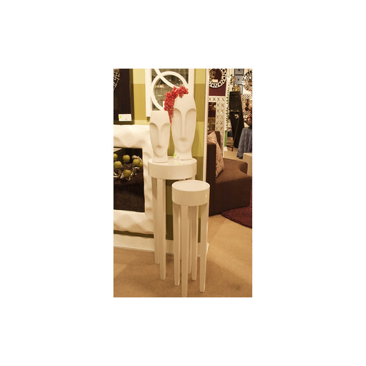 Howard Elliott Glossy White Stilletto Tables (set of 2)