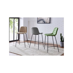 Caleb KD Fabric Counter Stool - set of 4