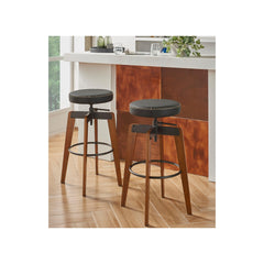 Nelson PU Adjustable Stool