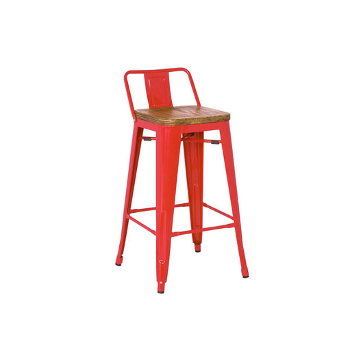 Metropolis Low Back Counter Stool - Set of 4