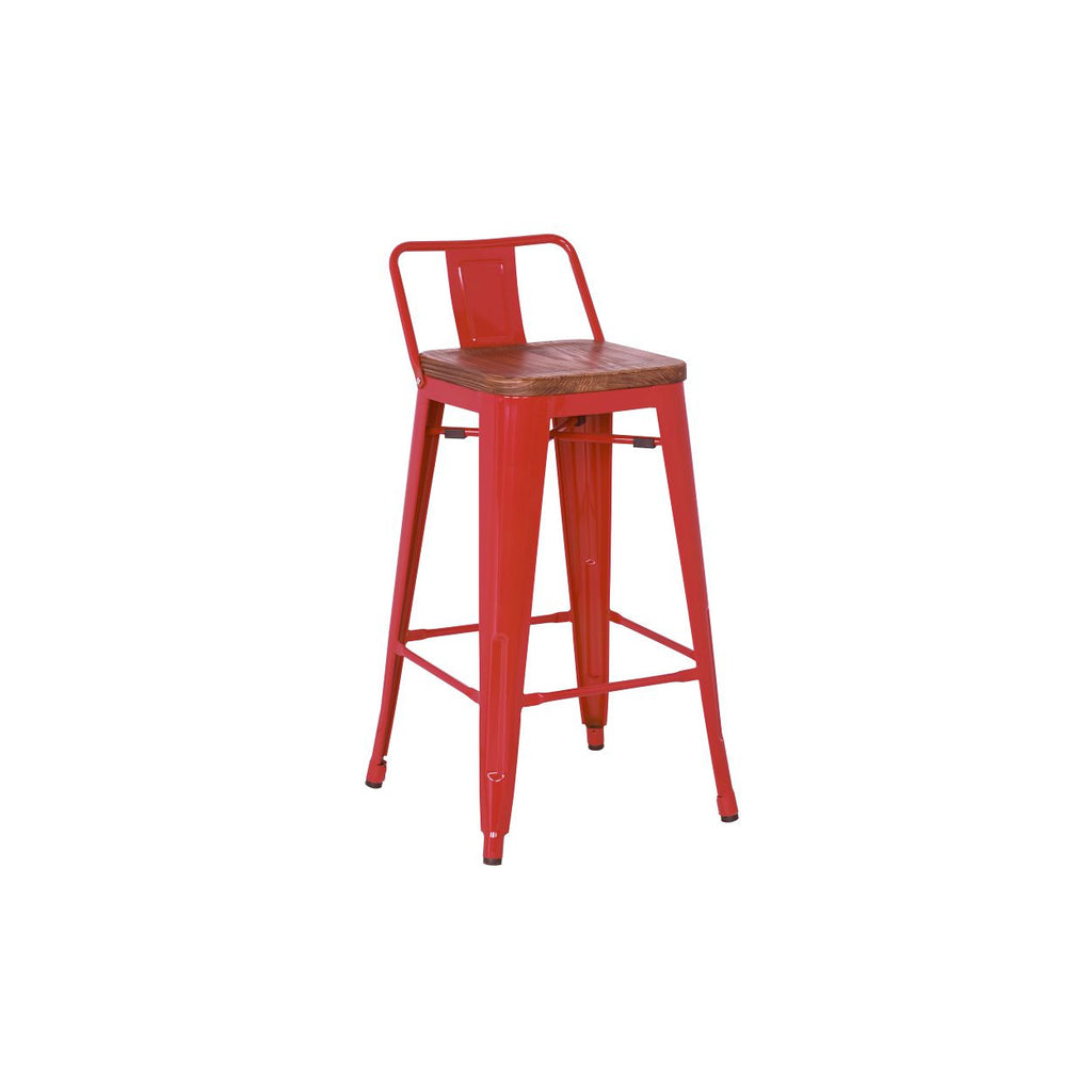 Metropolis Low Back Bar Stool Set Of 4 2bmod
