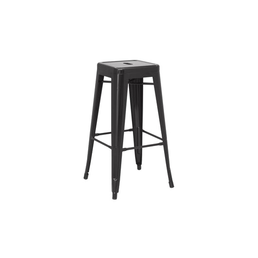 Metropolis Metal Backless Bar Stool - Set of 4