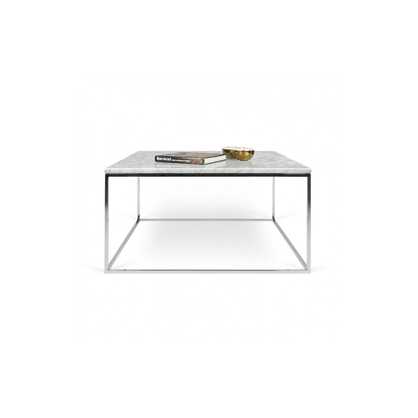 Temahome Gleam Square Coffee Table Marble 2bmod