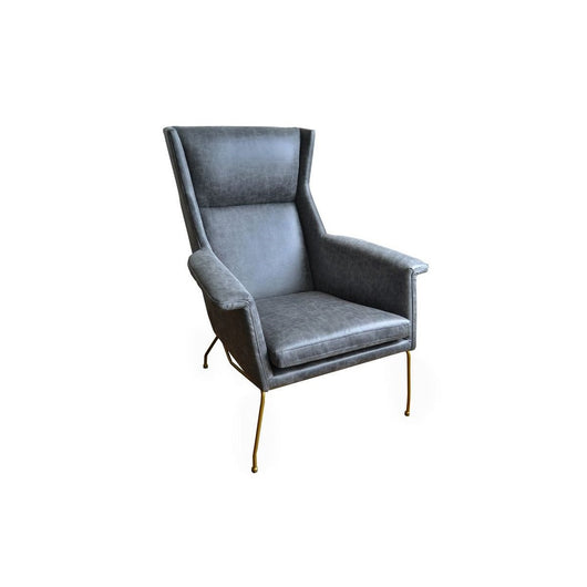 Evian Bonded Leather Arm Chair