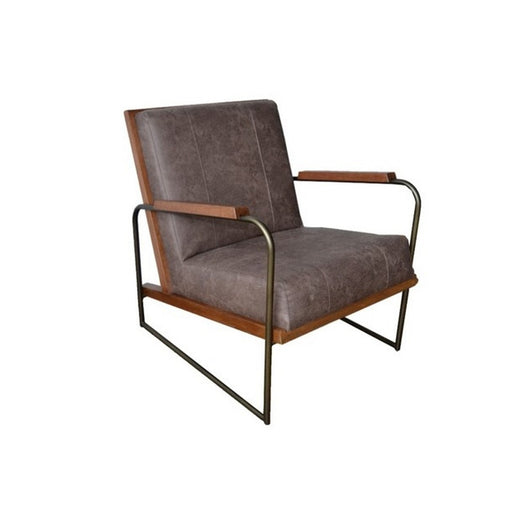 Damian PU Accent Chair