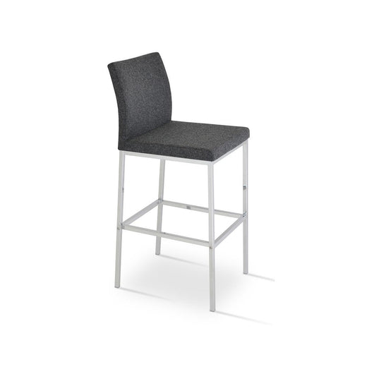 Sohoconcept Aria Chrome Bar Stool