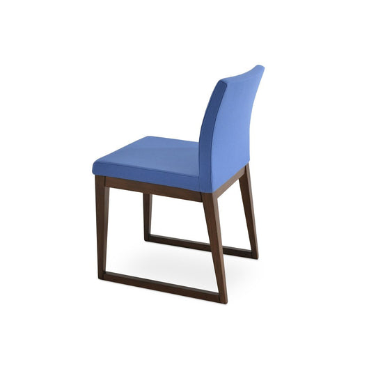 Sohoconcept Aria Sled Wood  Dining Chair