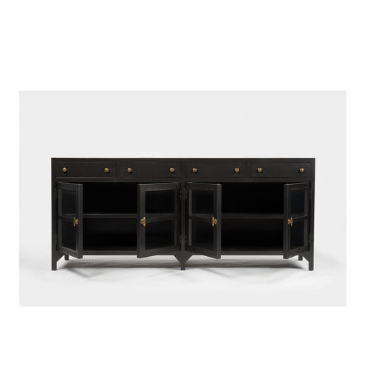 Belmont shadow box media consoles
