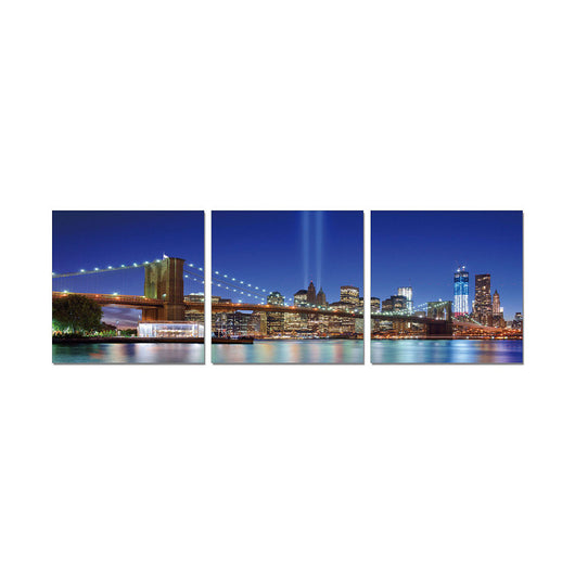J&M Premium Acrylic Wall Art - Brooklyn Bridge