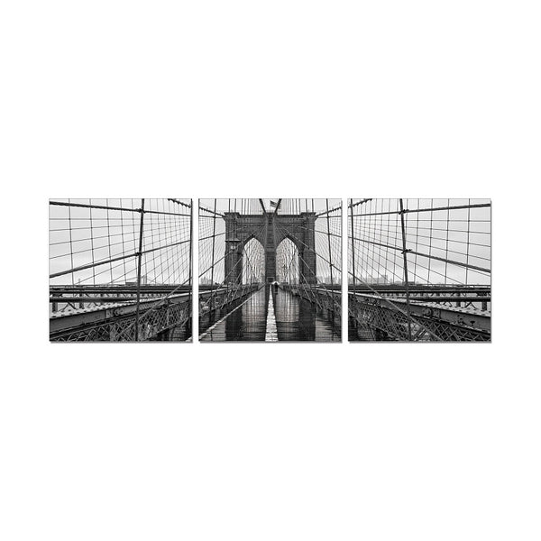 J&M Premium Acrylic Wall Art - Brooklyn Bridge Classic