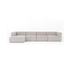 Greyson Langham Channeled 4 Piece Sectional