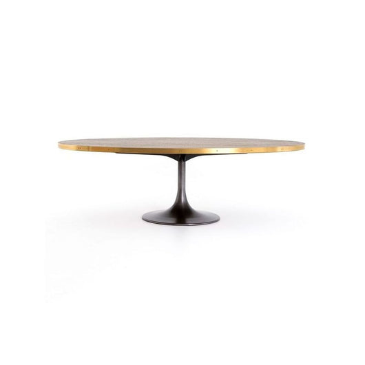 "Hughes Evans 98"" Oval Dining  Table"