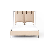 Irondale Leigh Bed - Palm Ecru