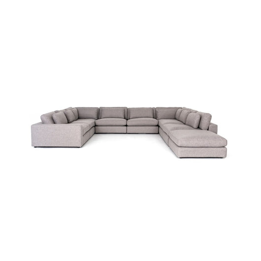 Kensington  Bloor 8 Piece Sectional and Ottoman