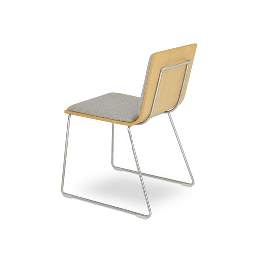 Sohoconcept Corona Wire Handle Back Chair - With Pad