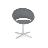 Sohoconcept Crescent 4 Star Swivel Dining Chair