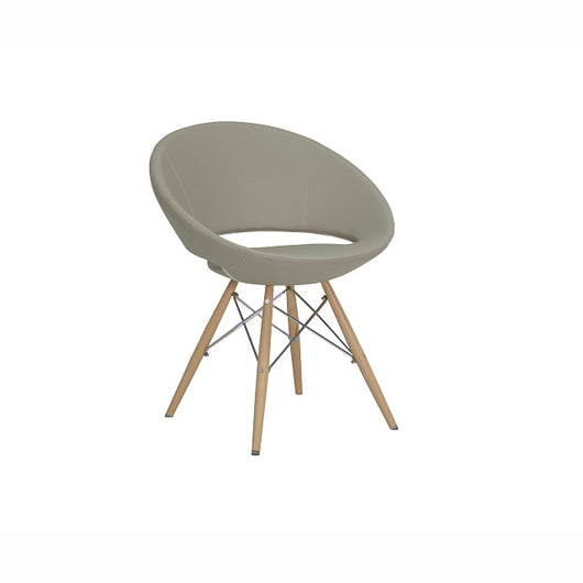 Sohoconcept Crescent Wood MW Dining Chair