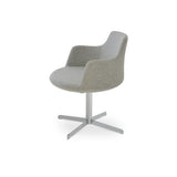 Sohoconcept Dervish  4 Star Swivel Chair