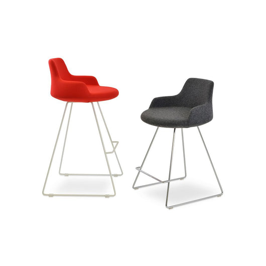 Sohoconcept Dervish Wire Counter Stool