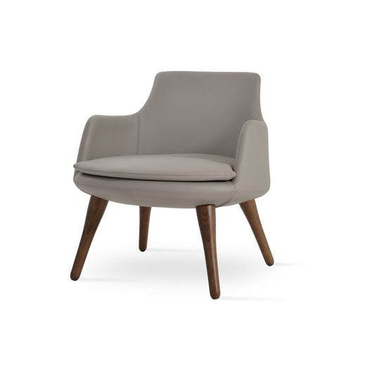 Sohoconcept Dervish Wood Lounge Chair