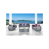 Clear View 5-Piece Conversation Furniture Set