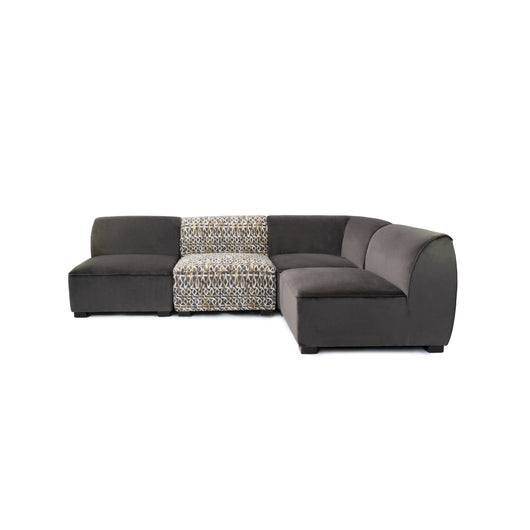 IONDESIGN Delfina Sectional Sofa - Corner Chair