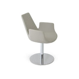 Sohoconcept Eiffel Arm Round Dining Chair