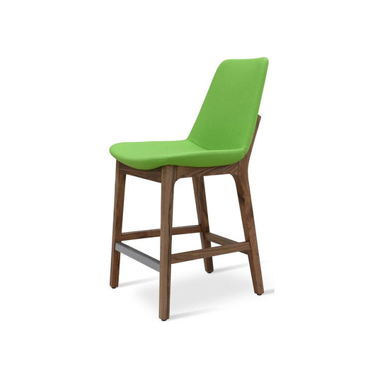 Sohoconcept Eiffel Wood Counter Stool