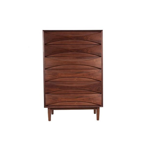 Halvmane Highboy Dresser