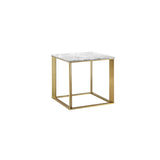 Farah  Side Table - Gold