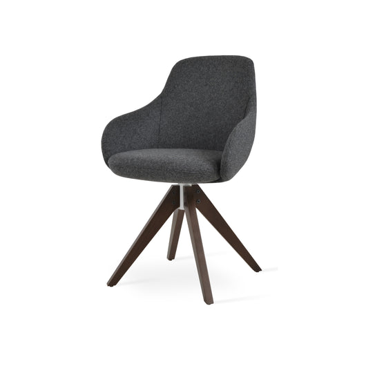 Sohoconcept Gazel Arm Pyramid Dining Chair