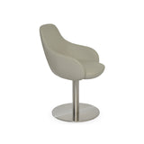 Sohoconcept Gazel Arm Round Dining Chair