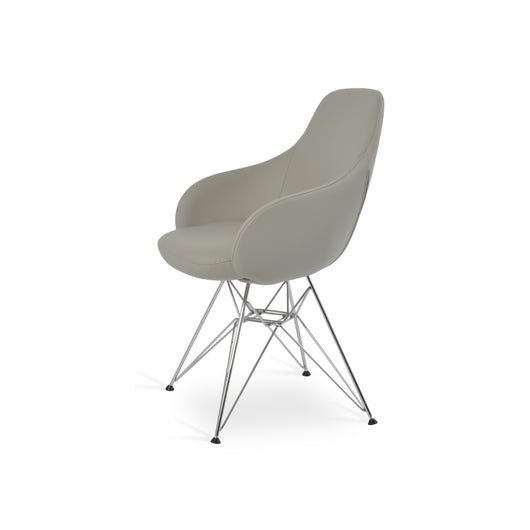 Sohoconcept Gazel Arm Tower Dining Chair