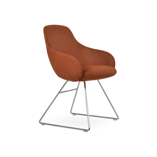 Sohoconcept Gazel Arm Wire Dining Chair