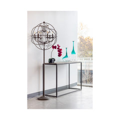 Winslow Rectangular Marble Console Table