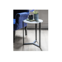 Classic Marble Top  Side Table