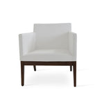 Sohoconcept Harput Lounge Chair - Wood Base
