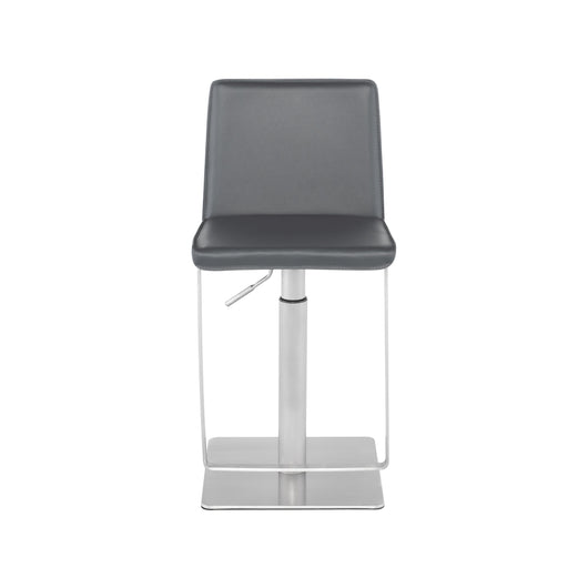 Nuevo Kailee Stool - Brushed Stainless Steel