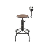District Eight  V19C-B Counter Stool