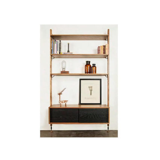 Nuevo Theo Wall Unit - Sliding Cabinet