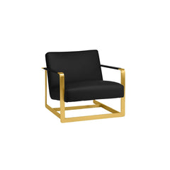 Nuevo Suza Lounge Chair - Gold