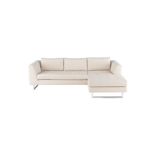 Stupendous Nuevo Matthew Sectional Sofa Stainless Steel 2Bmod Ibusinesslaw Wood Chair Design Ideas Ibusinesslaworg