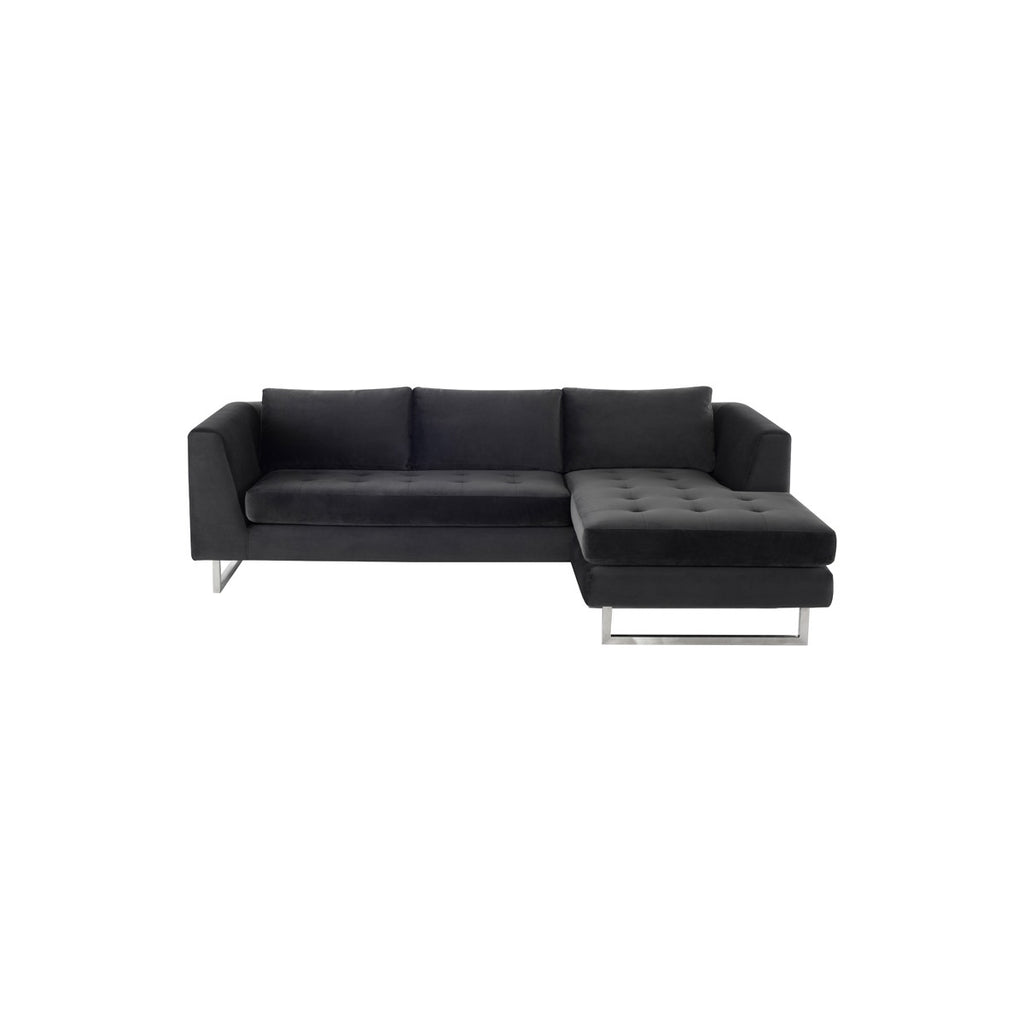Superb Nuevo Matthew Sectional Sofa Stainless Steel 2Bmod Ibusinesslaw Wood Chair Design Ideas Ibusinesslaworg