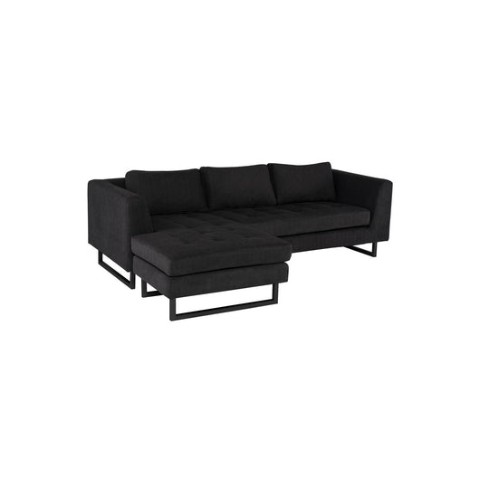 Nuevo Matthew Sectional Sofa - Stainless Steel