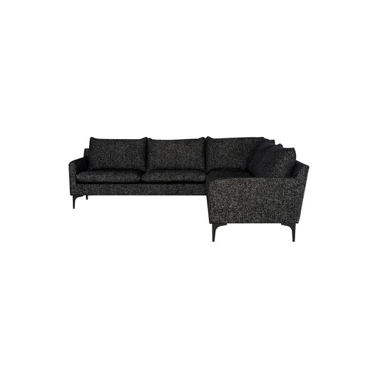 Nuevo Anders 2 Arm Sectional  - Black Legs