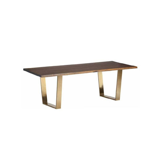 Nuevo Versaille Dining Table - Gold