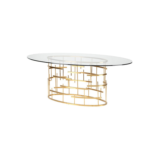 Nuevo Tiffany Oval Dining Table