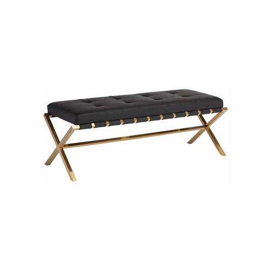 Nuevo Auguste Bench - Gold