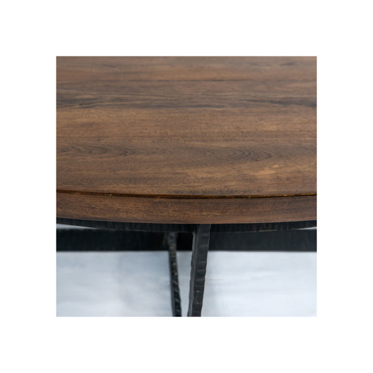 Theory Felix Round Coffee Table - Wood