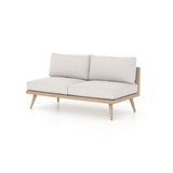 "Solano Tilly Outdoor Sofa 60"" - Washed Brown"